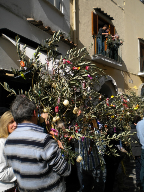 Palm Sunday in Positano